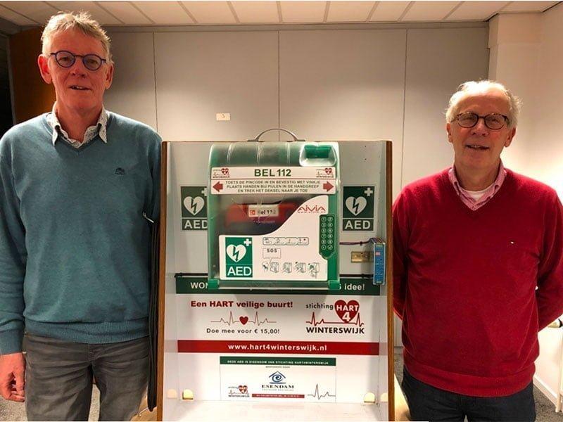 Hart4Winterswijk AED kast